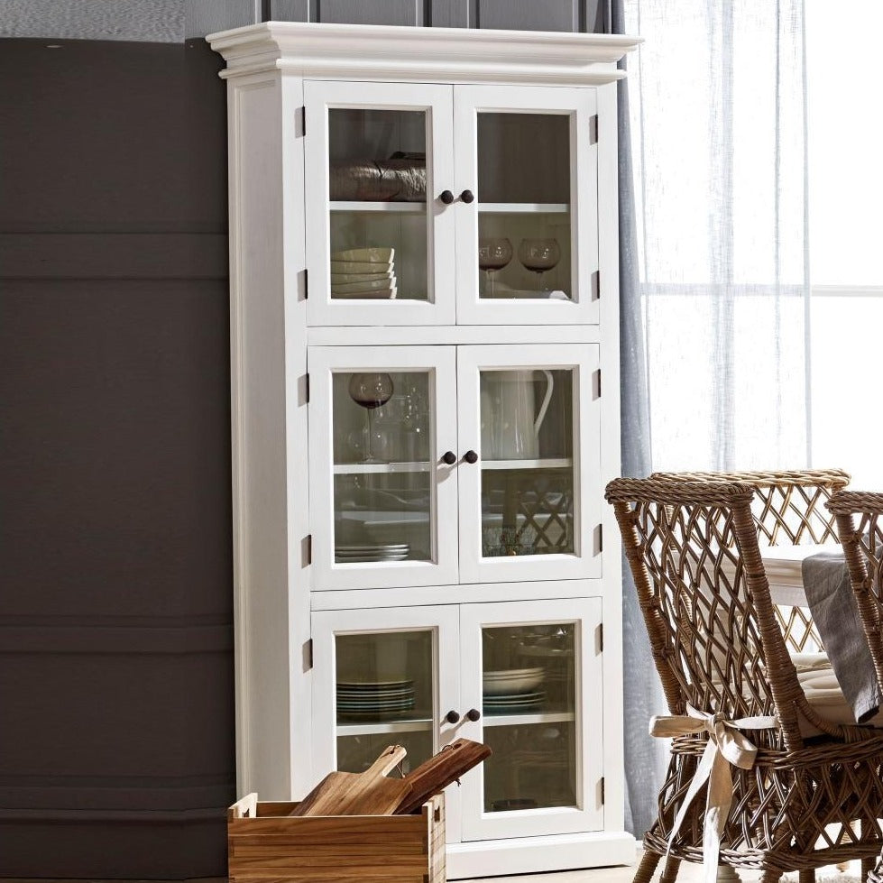 Halifax 3 Level Pantry with 6 Doors-Pantry-Hygge Home US