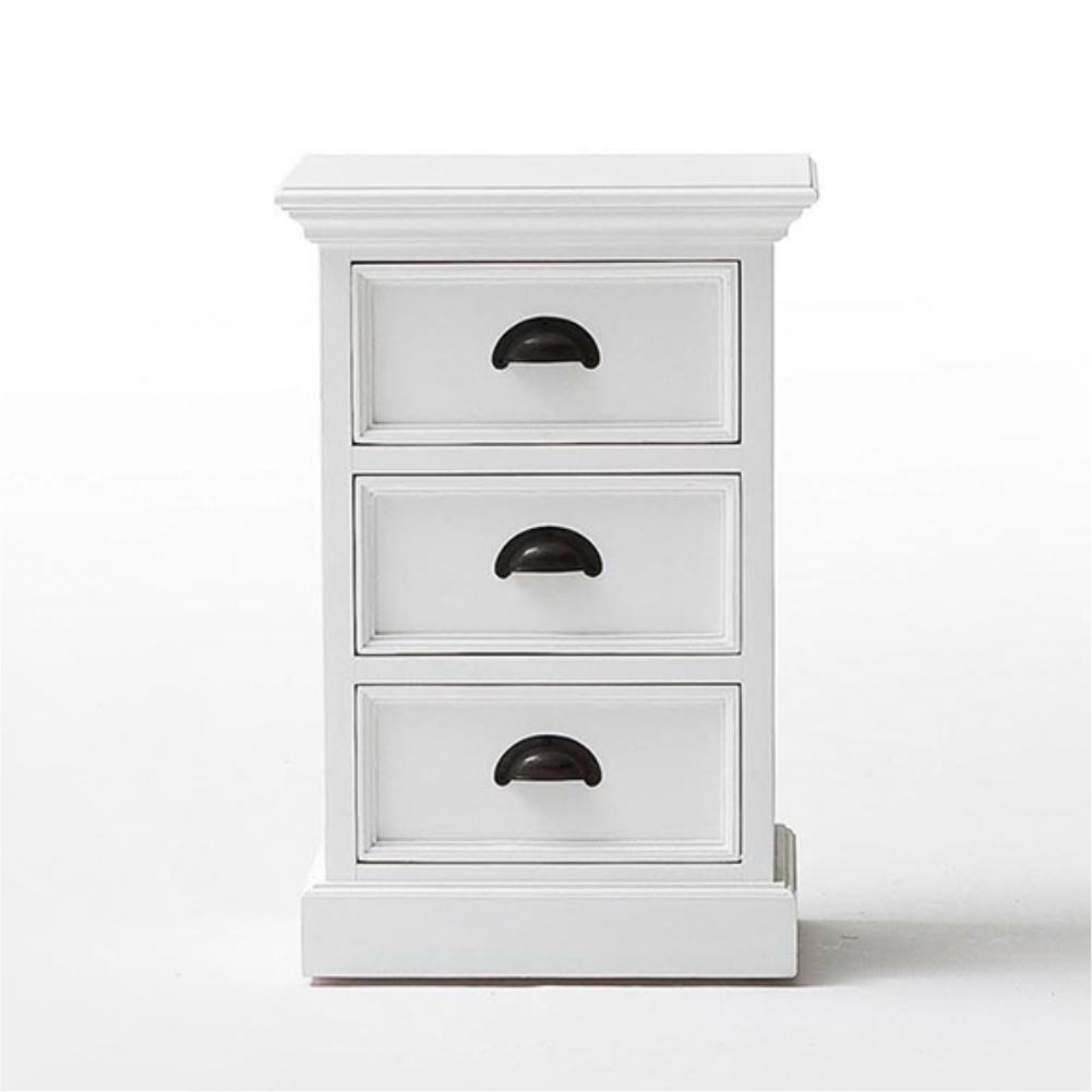Halifax Bedside Table with Drawers-Bedside Table-Hygge Home US