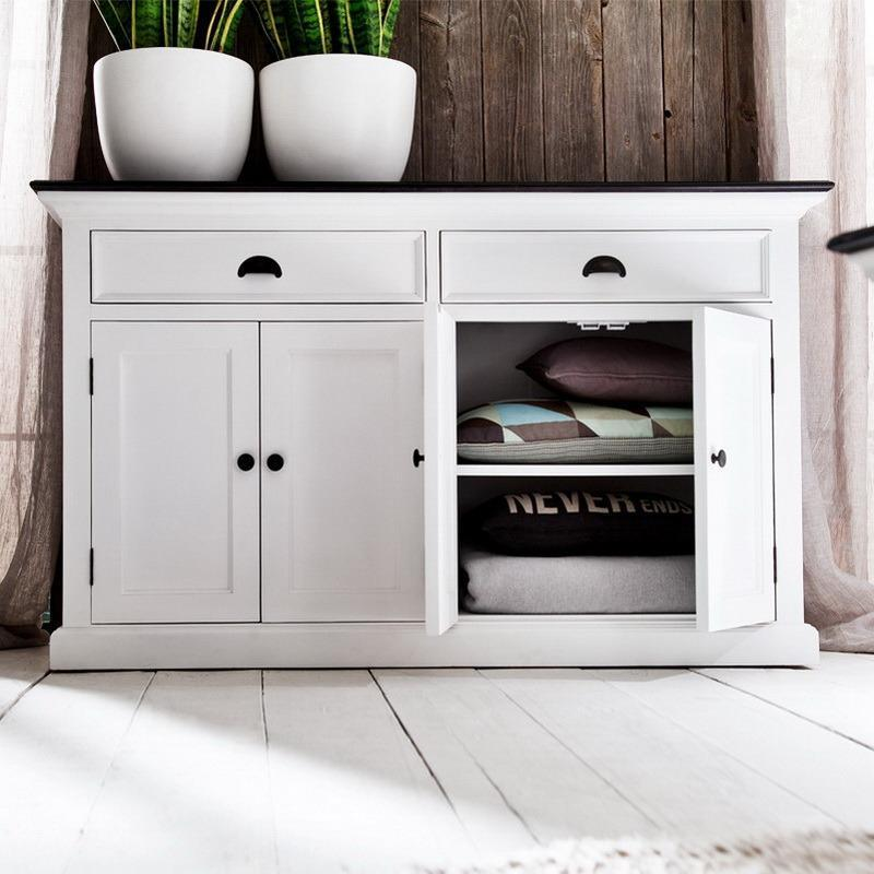 Halifax Contrast Buffet with 4 Doors-Buffet-Hygge Home US