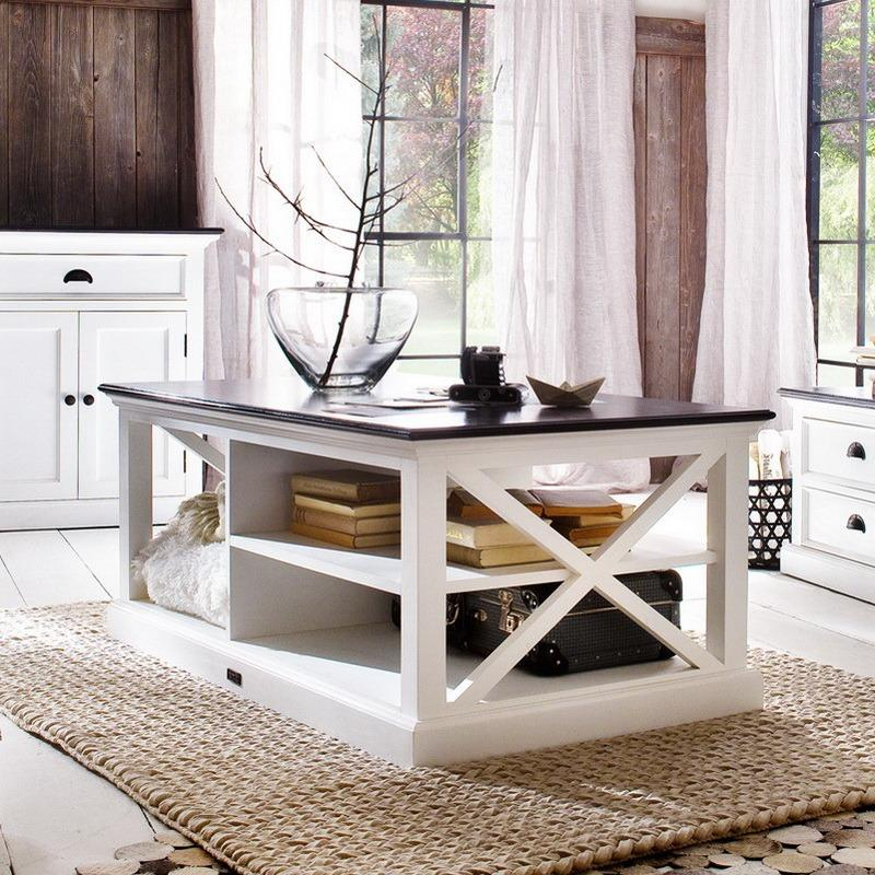 Halifax Contrast Coffee Table-Coffee Table-Hygge Home US