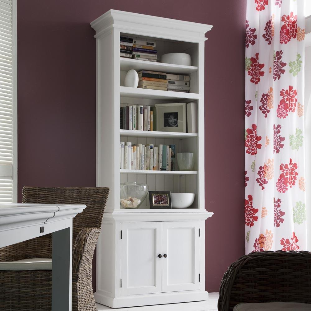 Halifax Single-Bay Hutch Cabinet-Hutch Cabinet-Hygge Home US