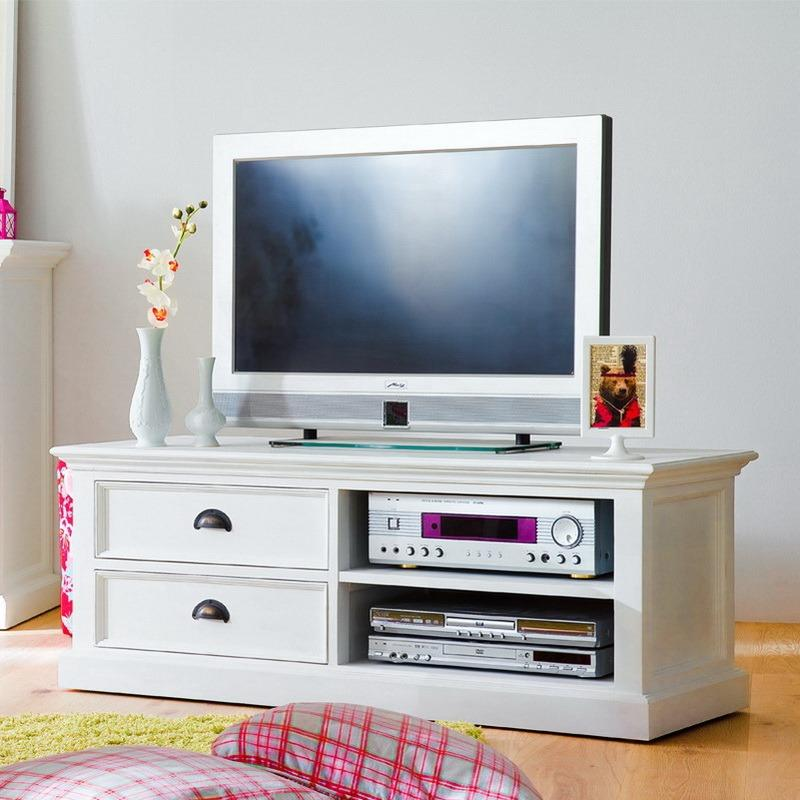 Halifax TV Stand with 2 Drawers-TV Stand-Hygge Home US