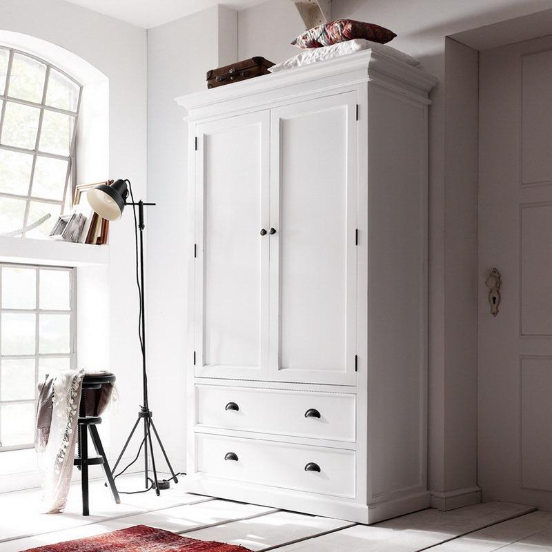 Halifax Wardrobe with Drawers-Wardrobe-Hygge Home US