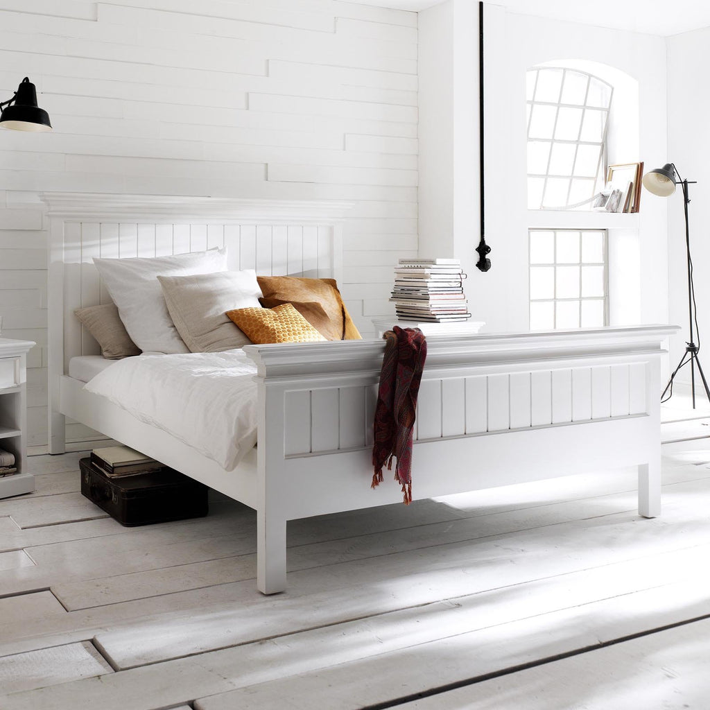 Halifax Wooden Bed Frame-Bed-Hygge Home US
