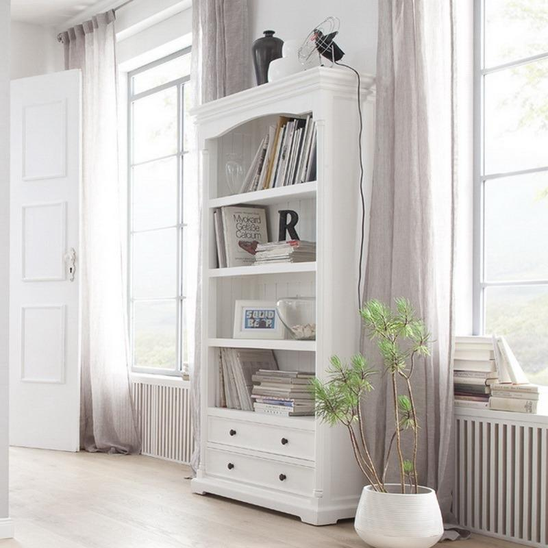 Provence Bookcase with Drawers-Bookcase-Hygge Home US