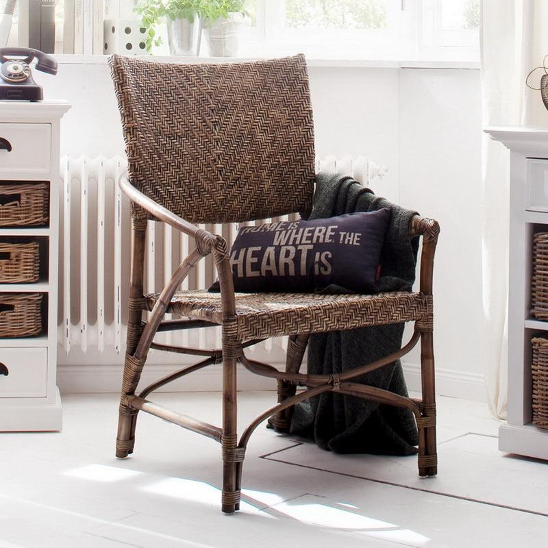 Wickerworks Jester Chair (Set of 2)-Chair-Hygge Home US