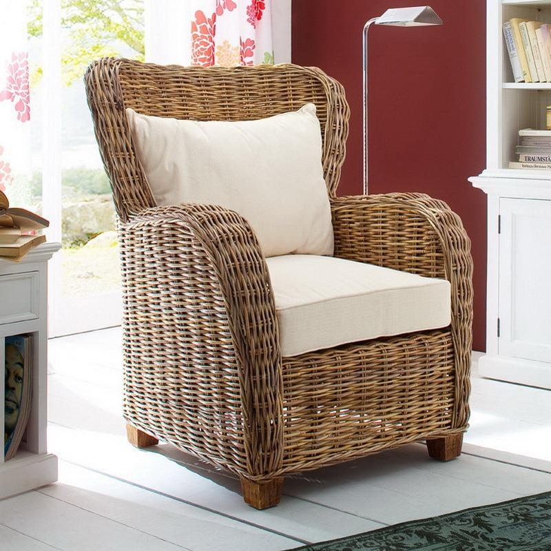 Wickerworks Queen Chair-Chair-Hygge Home US