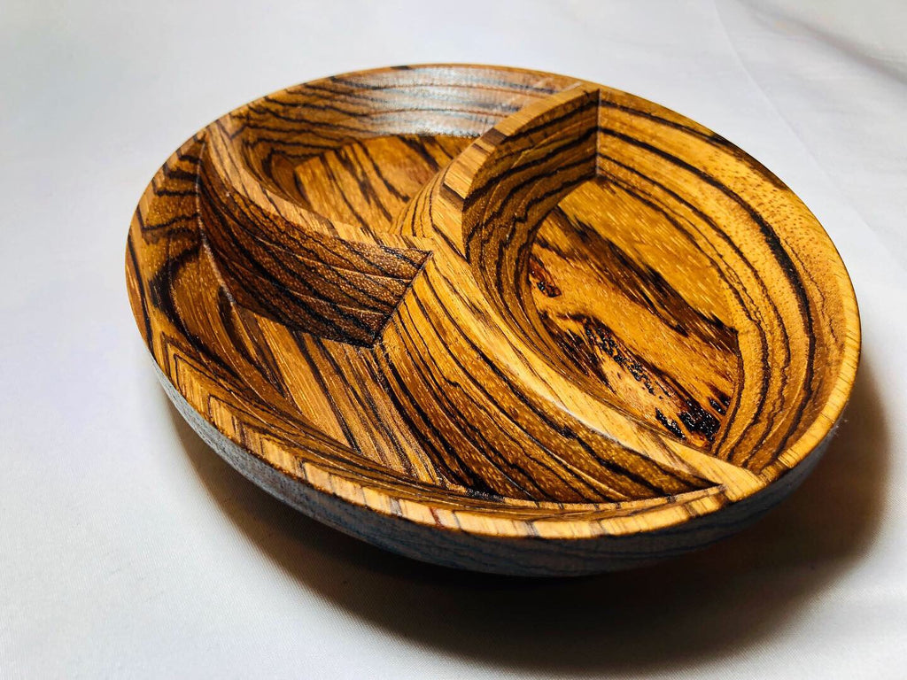 "Keepsake ""Zebra"" Wood Tray"
