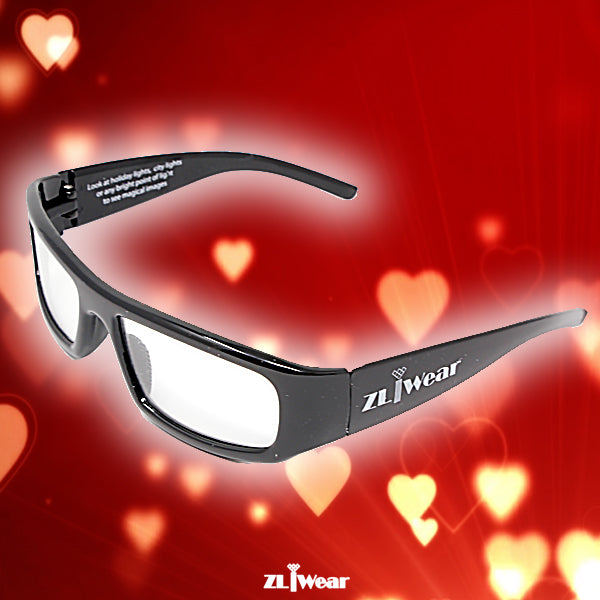 ZL iWear Heart Diffraction Glasses
