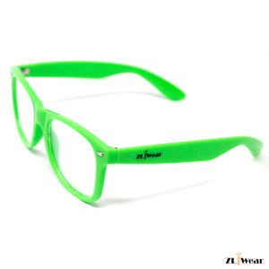 ZLiWear Spiral Effect Diffraction Glasses -  Green - ZLiWear