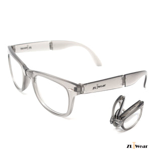 ZLiWear Folding Ultimate Diffraction Glasses - Grey Mate