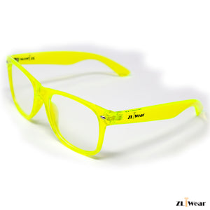 ZLiWear Spiral Effect  Diffraction Glasses - Green  Transparent