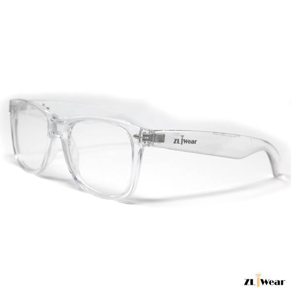 ZLiWear Ultimate  Diffraction Glasses - Transparent Clear