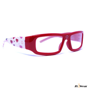 ZLiWear Heart Effect Diffraction Glasses - Red Love - ZLiWear