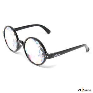 ZLiWear Sacred - Black Kaleidoscope Glasses