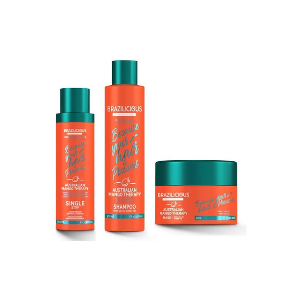 Pack Australian Mango Therapy Lissage + Entretien