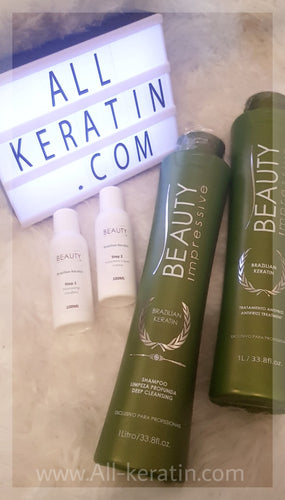 Kit 100 ml Beauty Impressive / Progress - Brazilian Keratin