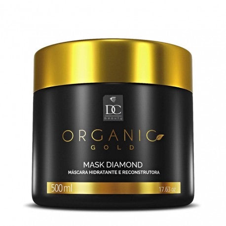 500g masque Organic gold Diamond