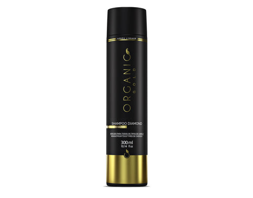 Shampoing diamond Organic gold 300 ml