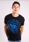 CAMISETA MASCULINA BOSSA BRASIL ESTAMPADA - SAVE THE OCEAN
