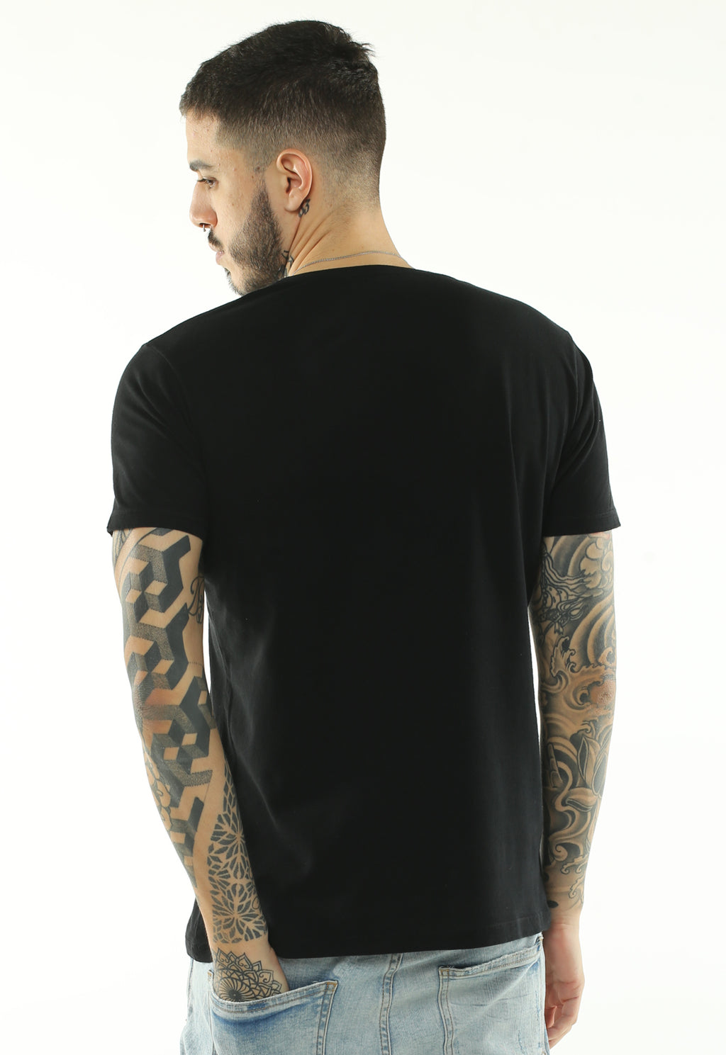 CAMISETA MASCULINA BOSSA BRASIL ESTAMPADA - CONNECTING PEOPLE