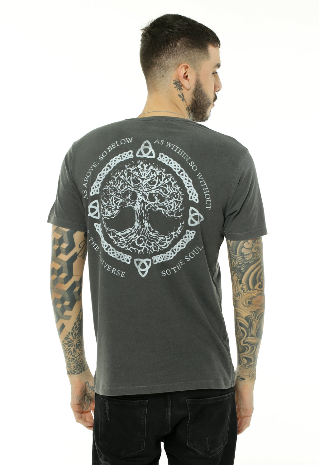 CAMISETA MASCULINA BOSSA BRASIL ESTAMPADA - TREE OF LIFE