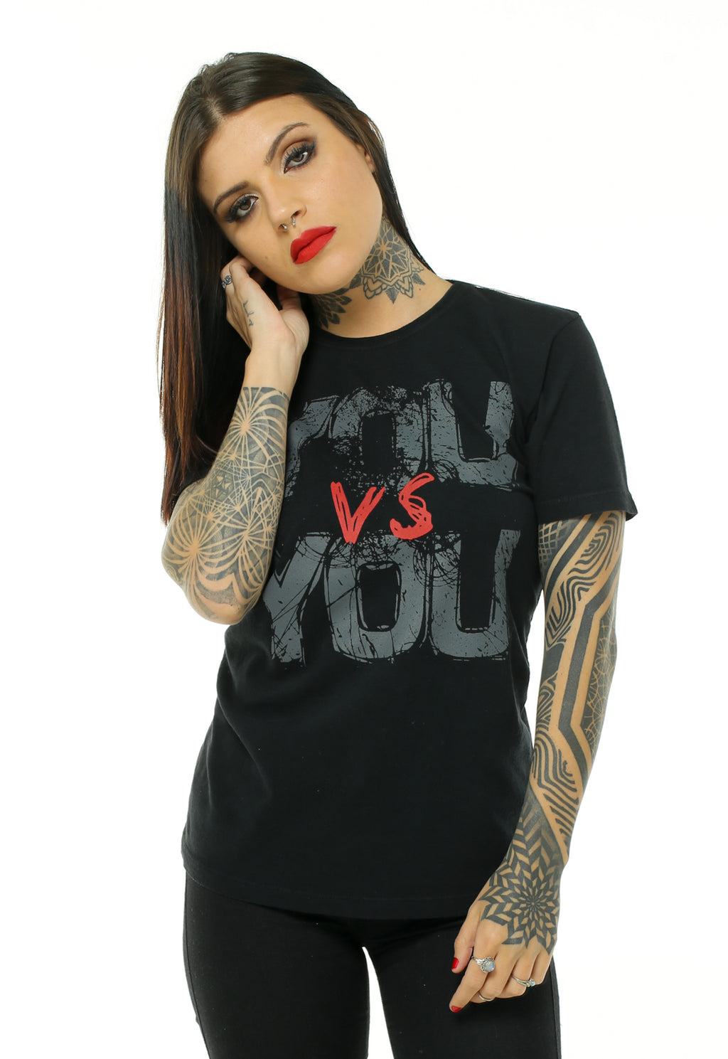 CAMISETA FEMININA BOSSA BRASIL - YOU VS YOU