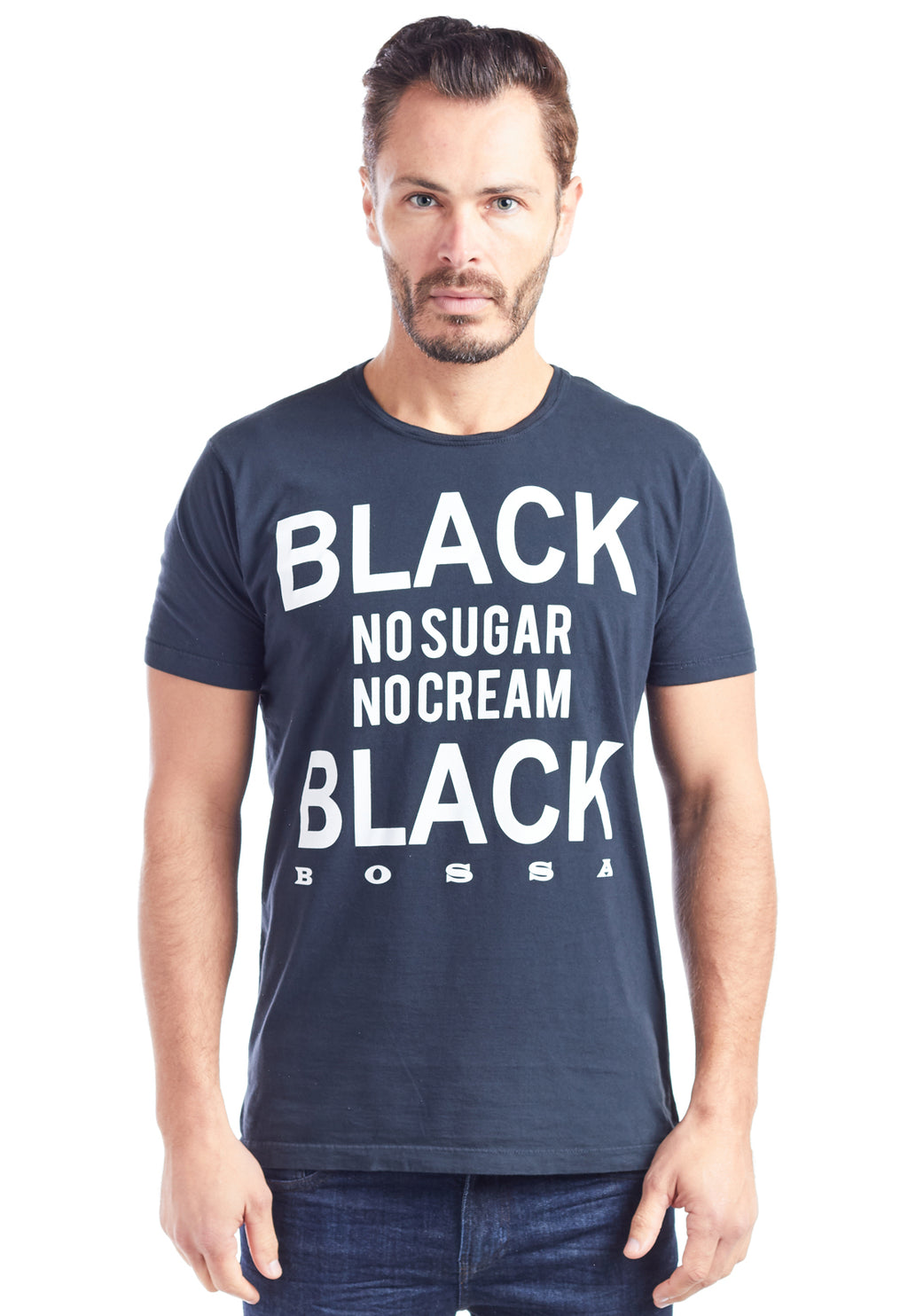 CAMISETA MASCULINA ESTAMPADA - BLACK