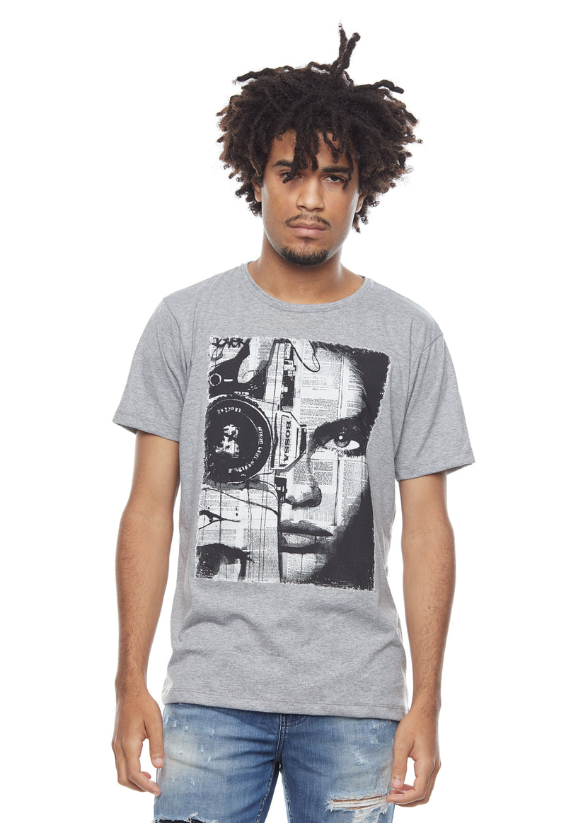 CAMISETA MASCULINA BOSSA BRASIL ESTAMPADA - PHOTO FACE