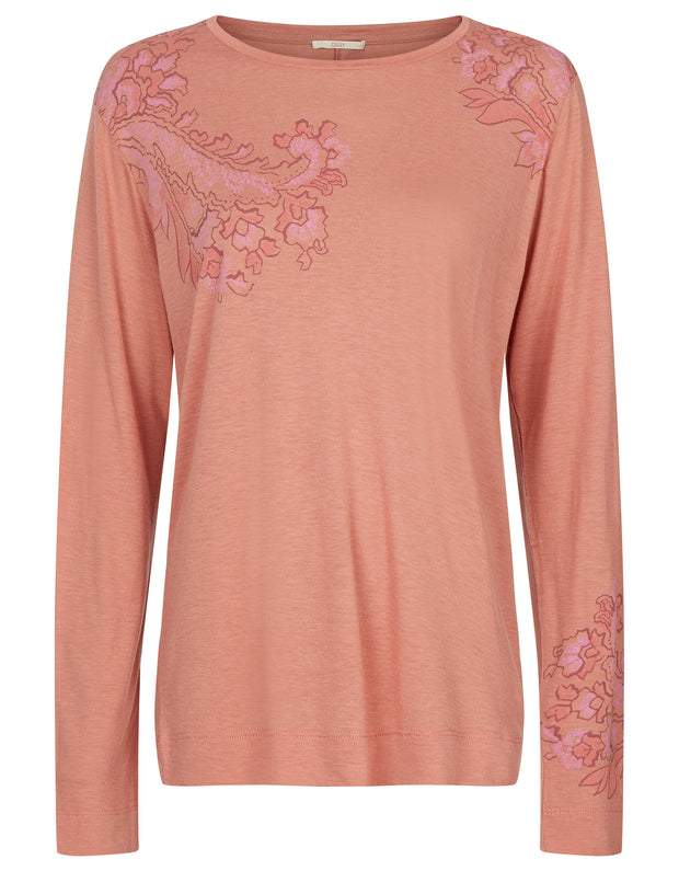 Tracy Top rose fog
