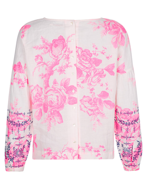 Tench Boxybluse Rose Branch -Oilily-34-Oilily.com