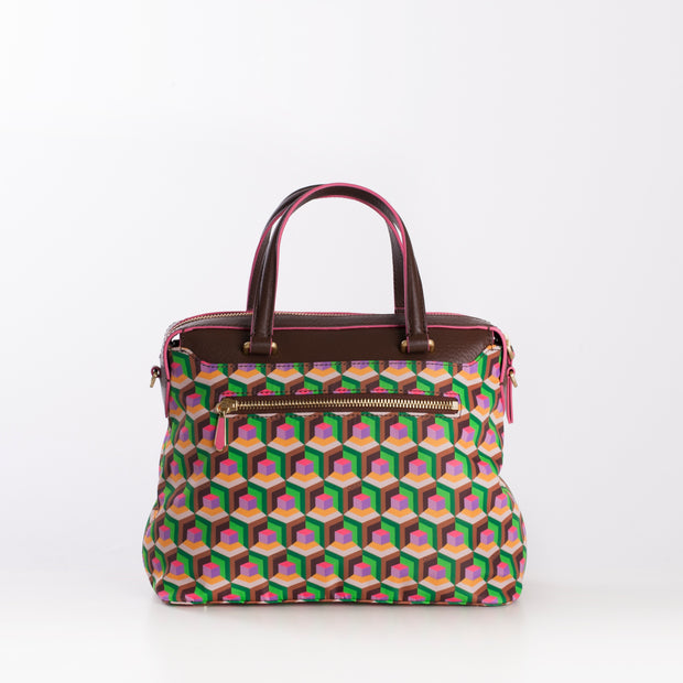 Handtasche S Geo Diamonds
