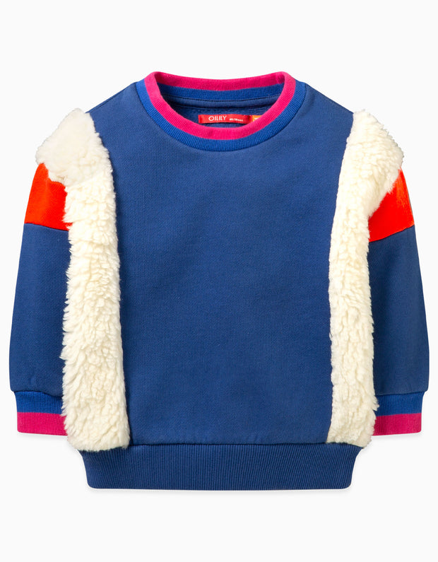 Hobbels Colourblock-Sweater