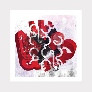 Abstract Typography Art for home or office