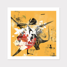 Load image into Gallery viewer, Yellow Contemporary Art for Home or Office