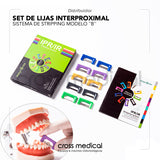 #0153 SET DE LIJAS INTERPROXIMALES MODELO ¨B¨