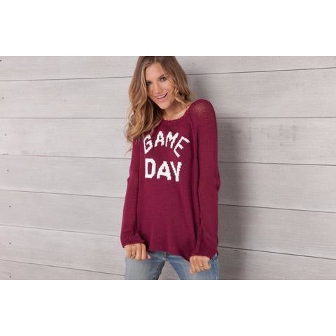 Game Day Raglan Pullover