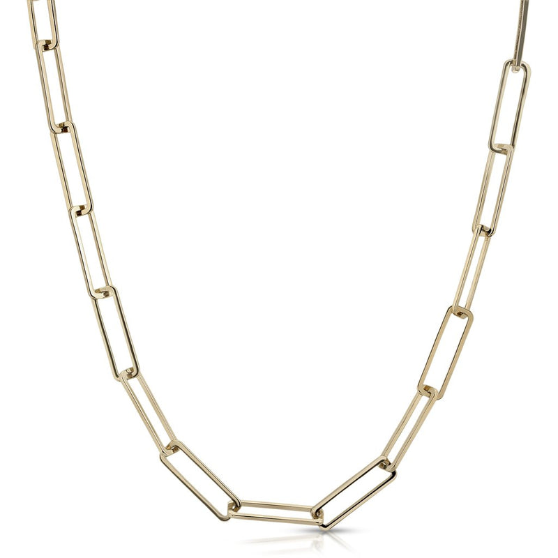"16"" Large Rectangle Link Chain"