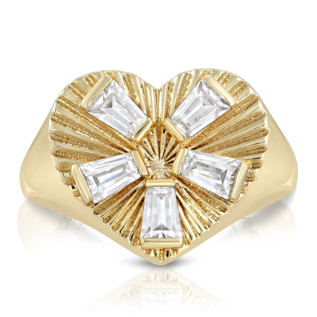 Modern Love Signet Ring