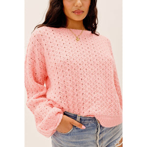 Dawn Hi Low Pullover