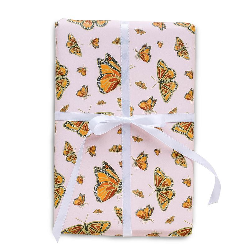 Monarch Butterflies Gift Wrap