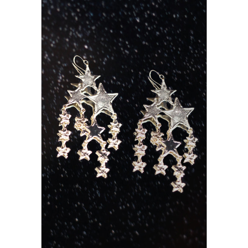 The Candis Cascading Star Earring