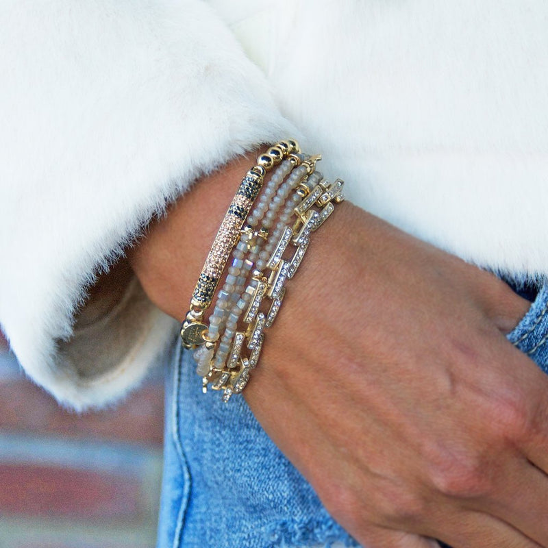 Mini Star Stretch Wrap Bracelet