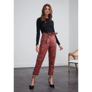 Stella Leather Pant
