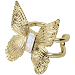 Butterfly Gem Ring