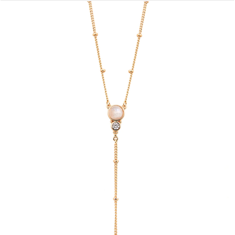 Royal  Gemstone Lariat