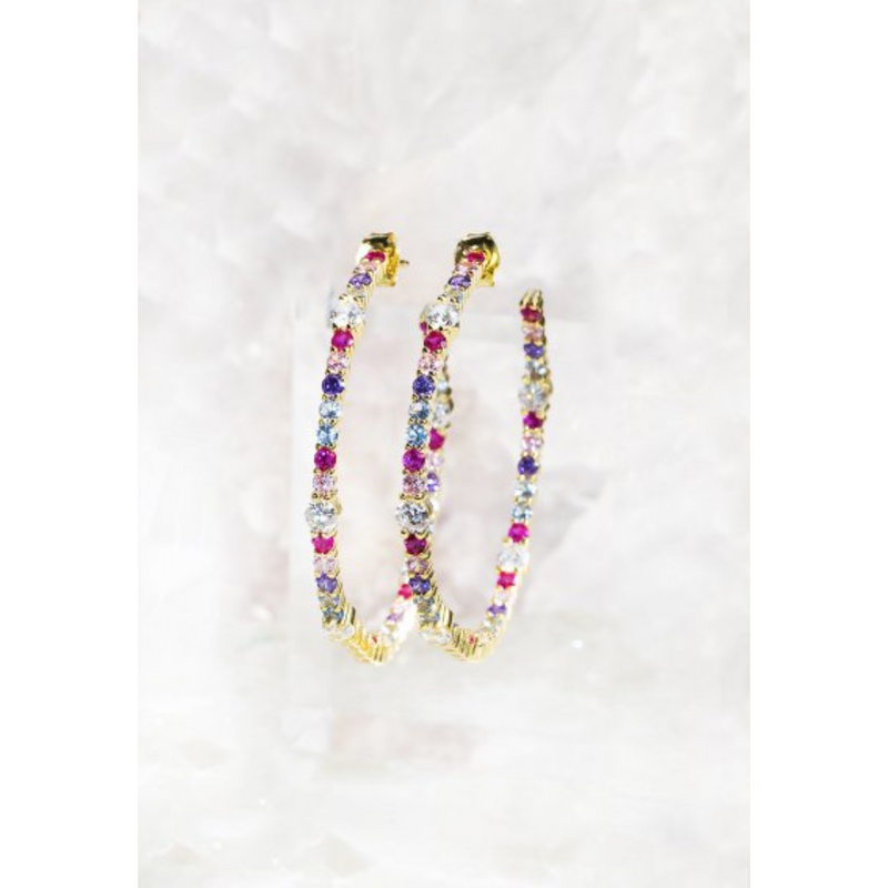 Wild Child Hoop Earring
