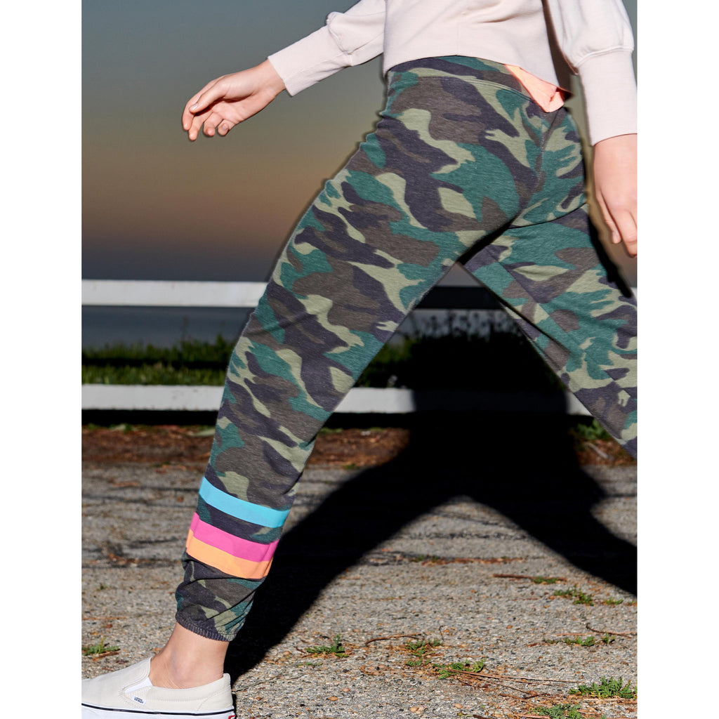Stripes Camo Sweatpants