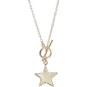 Elan Star TBar Necklace