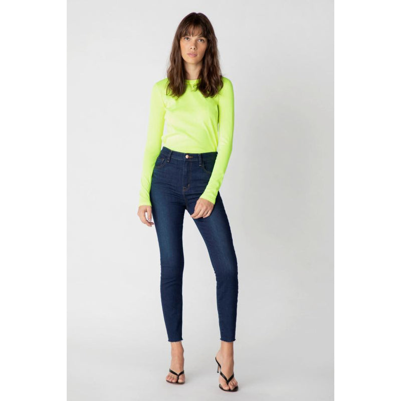 Leenah High Rise Ankle Skinny